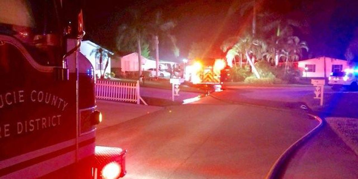 5 Residents displaced by St. Lucie house fire
