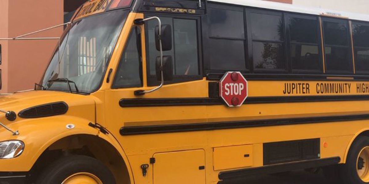 New bus unveiled for special needs students at Jupiter HS