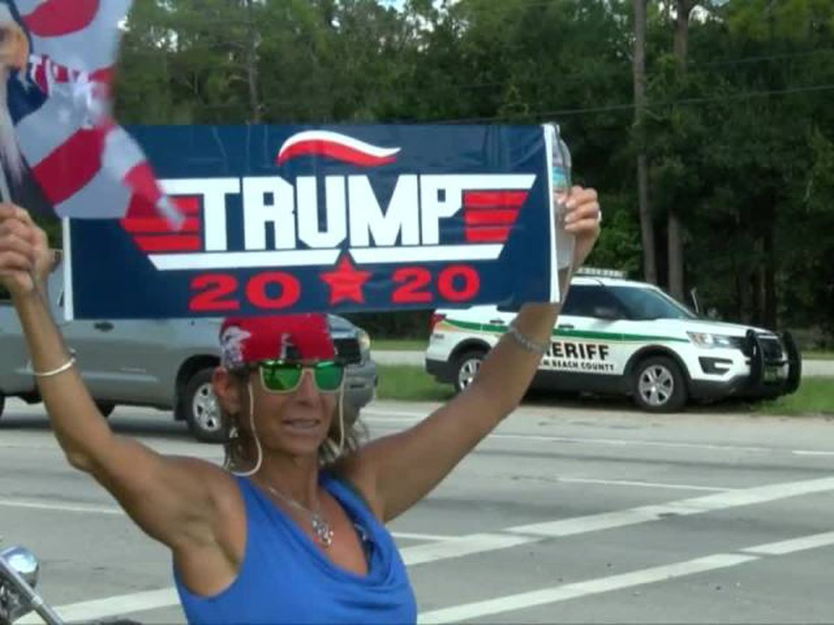 "Pro-Trump ""Patriot Ride 2020"" caravan rides from Jupiter Farms to Hobe Sound"