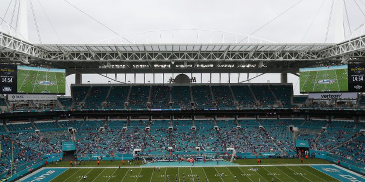 Dolphins, Hurricanes to allow limited capacity at Hard Rock Stadium
