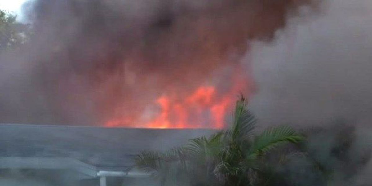 Hobe Sound family loses home, 2 dogs in fire