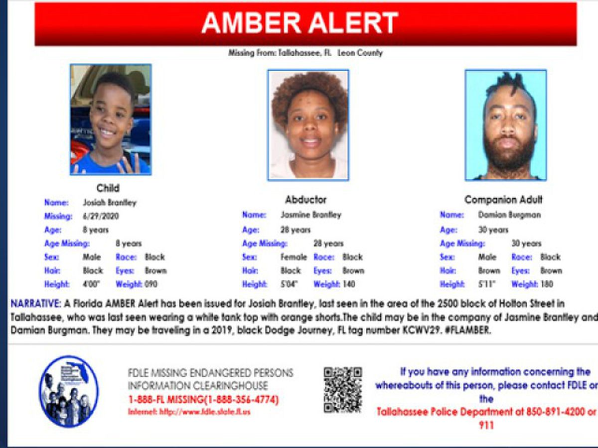 Missing 8-year-old boy from Tallahassee found safe