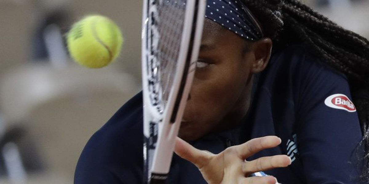 Delray Beach's Gauff tops No. 9 seed in French Open debut
