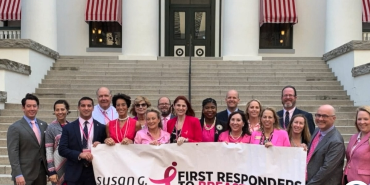 Local breast cancer awareness advocates in Tallahassee