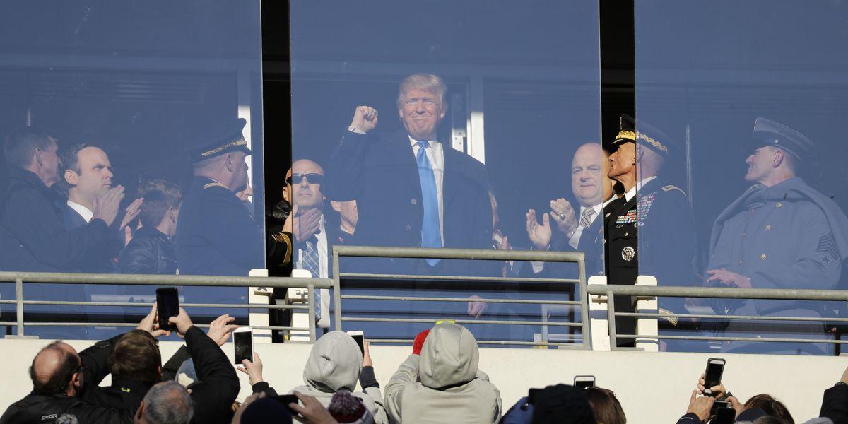 APNewsBreak: President Donald Trump to attend Army-Navy game