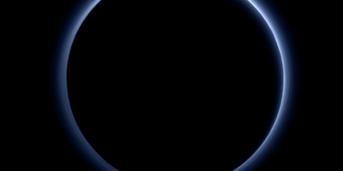 NASA's New Horizons spacecraft discovers blue sky and red ice at Pluto