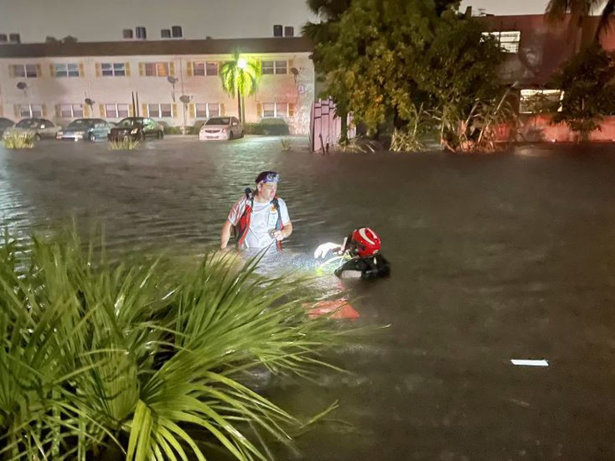 Tropical Storm Eta floods already drenched Florida cities