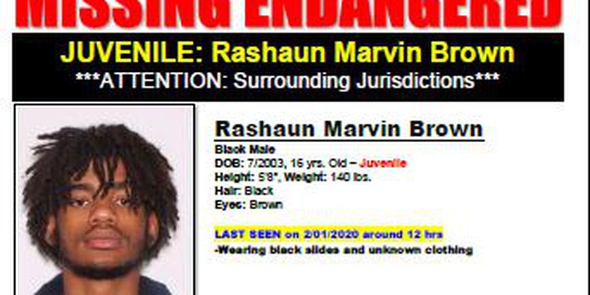 Rashaun Marvin Brown: Police need help locating missing teen in Port St. Lucie