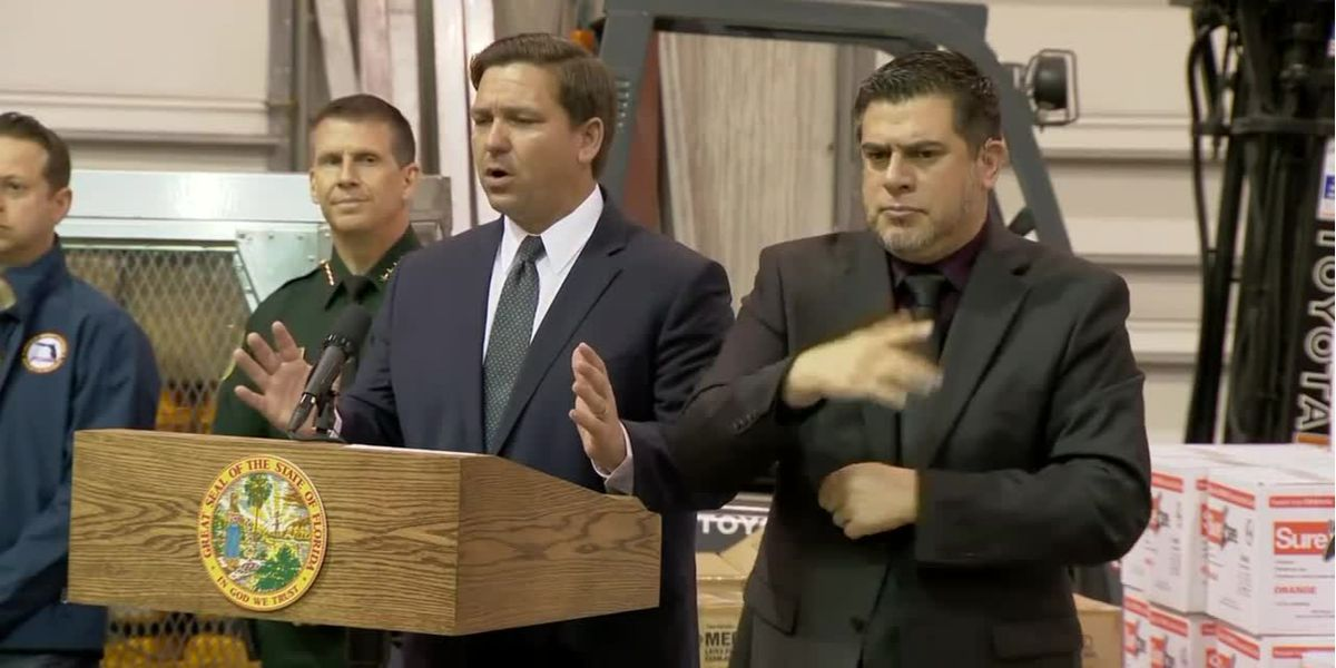 DeSantis says stay-at-home order is 'inappropriate'