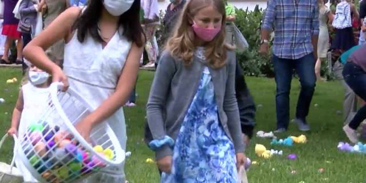 Easter celebration held at Holy Trinity Episcopal Church