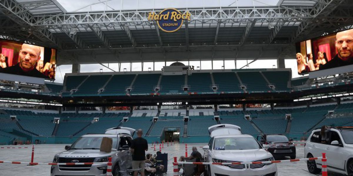 Dolphins announce July movie slate at Hard Rock Stadium