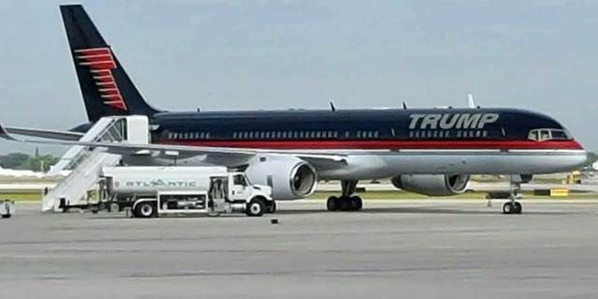 WATCH LIVE:President-elect Trump arrival at PBIA