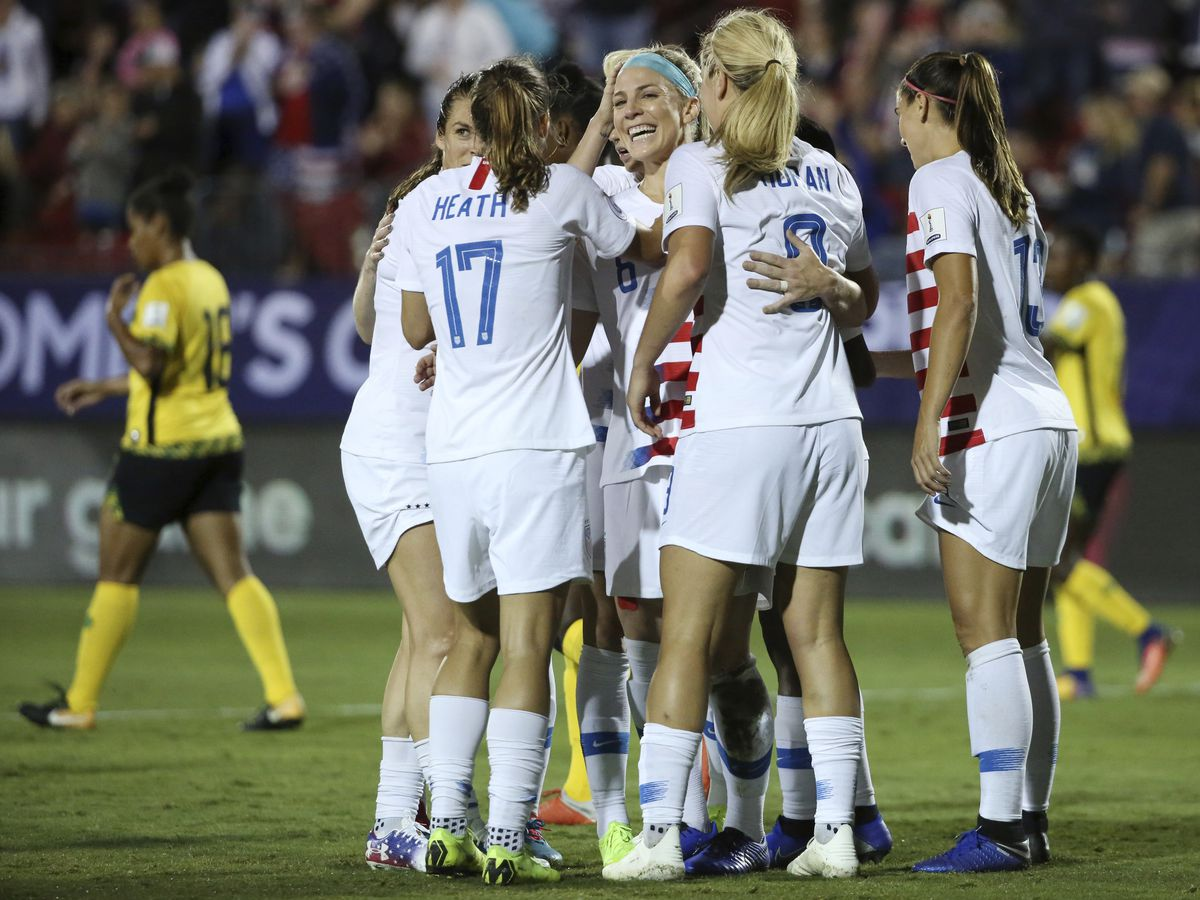 US headed to Women's World Cup with 6-0 win over Jamaica