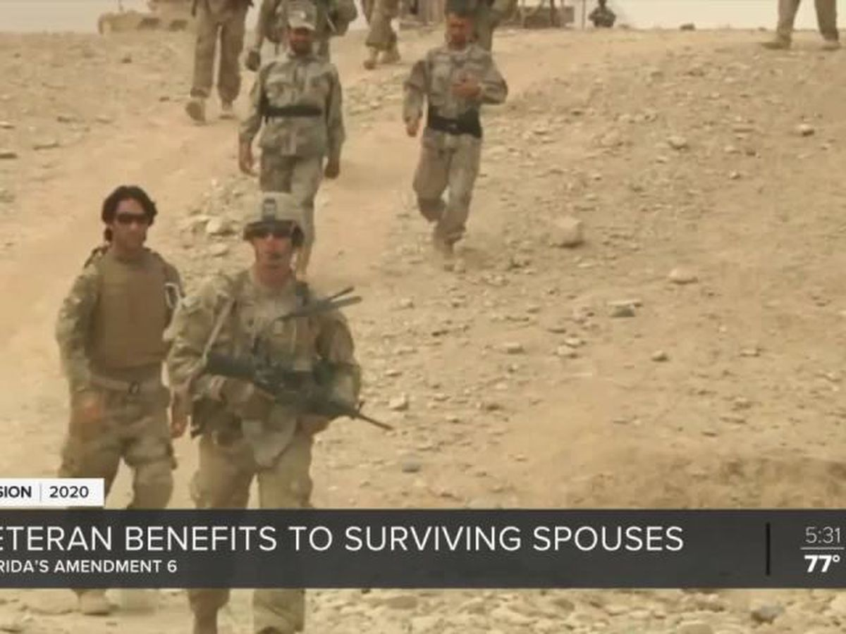 Amendment 6 aims to help surviving spouse of veterans