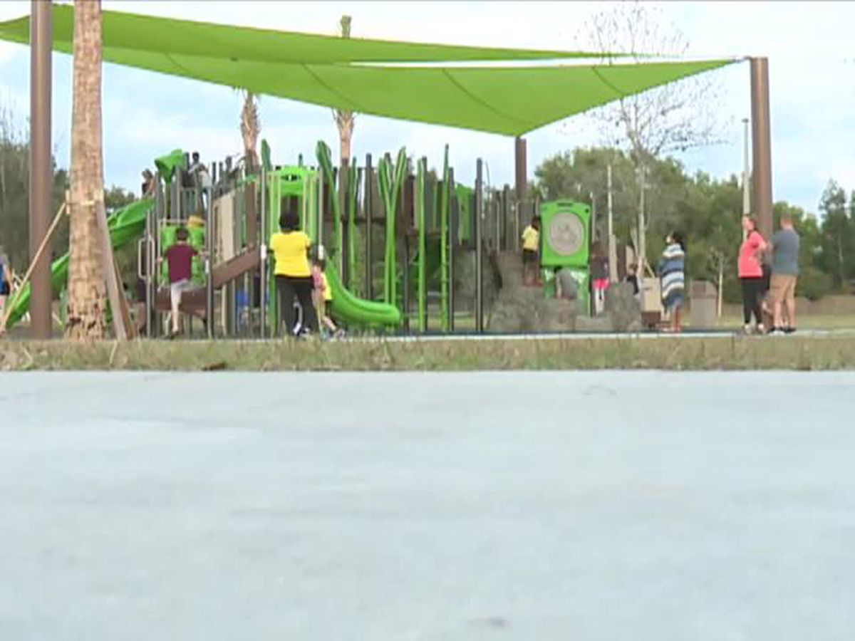 28-acre outdoor park opens for residents to enjoy