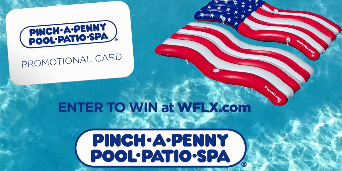 Hot Ticket: WIN an American Flag Float and promotional card from Pinch-A-Penny