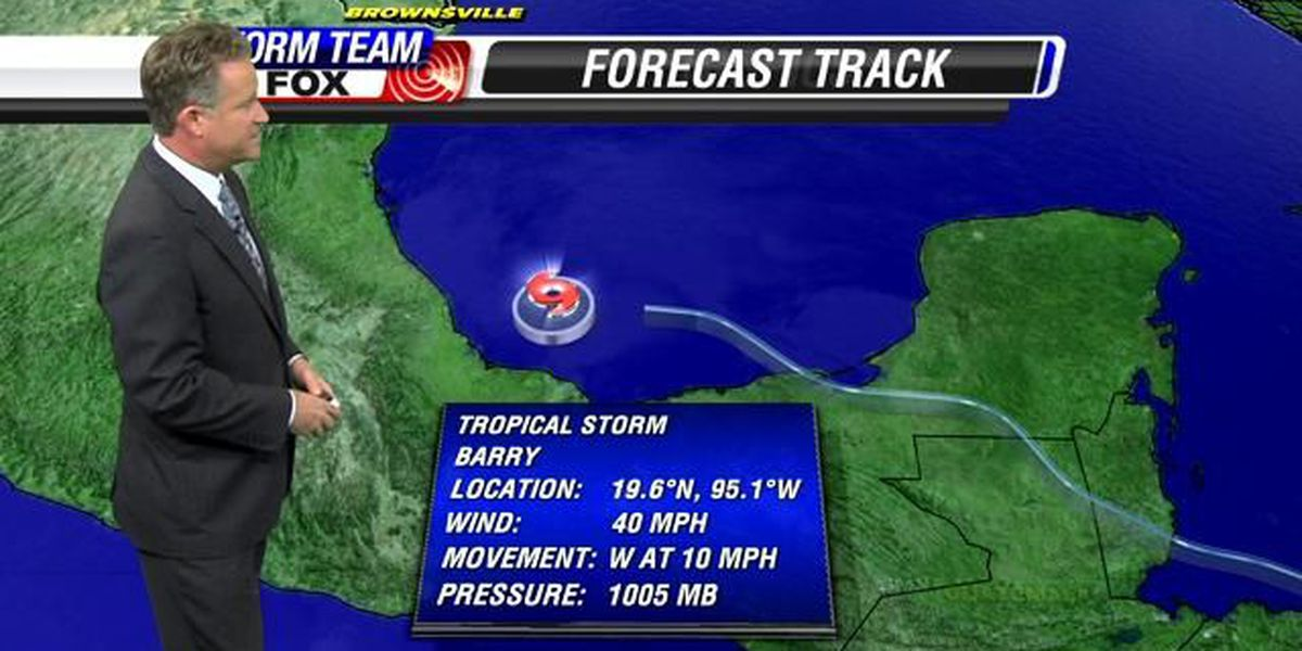 Tropical Storm Barry forms off Mexican coast