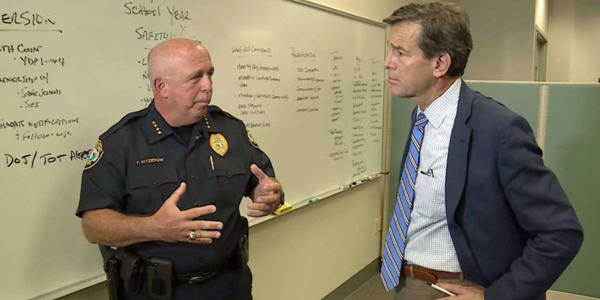 Palm Beach County School Police Department chief discusses the steps designed to keep students safe