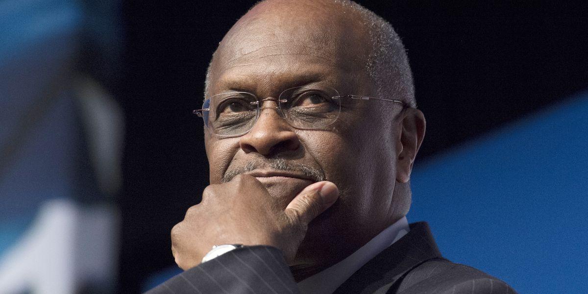 Herman Cain is hospitalized with coronavirus