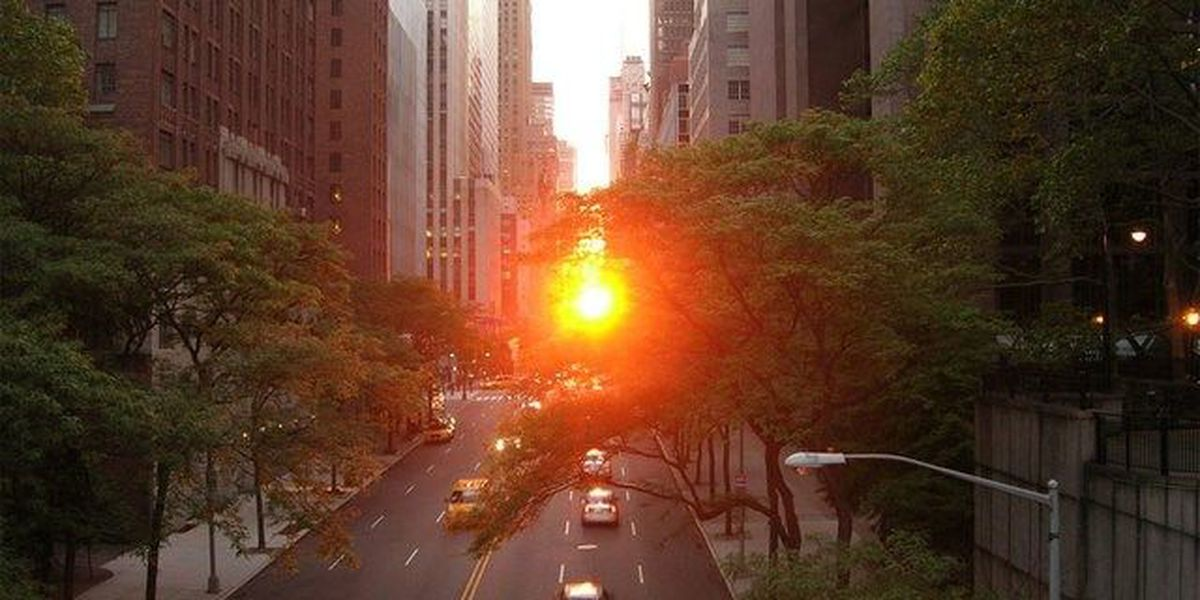 'Manhattanhenge' expected to draw crowds in NYC