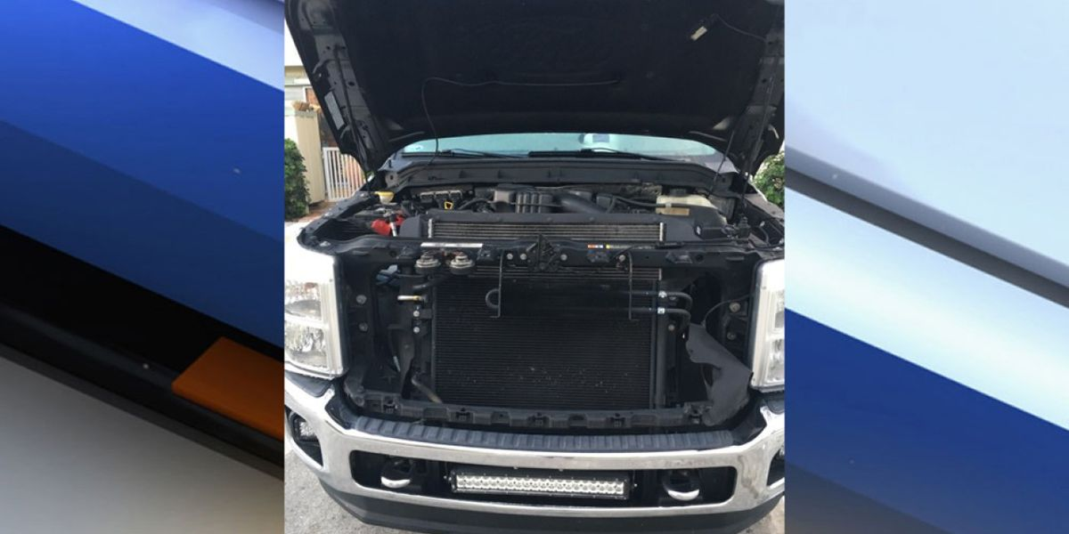 Jupiter police searching for thieves who stole cars, stripped pickup truck
