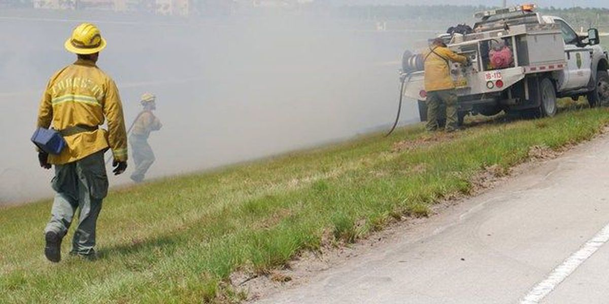Glades Cut-Off Rd reopens after brush fire