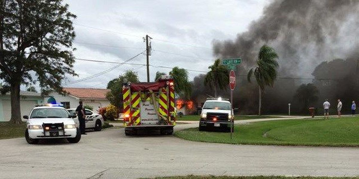 House fire caused by propane tank explosion in PSL