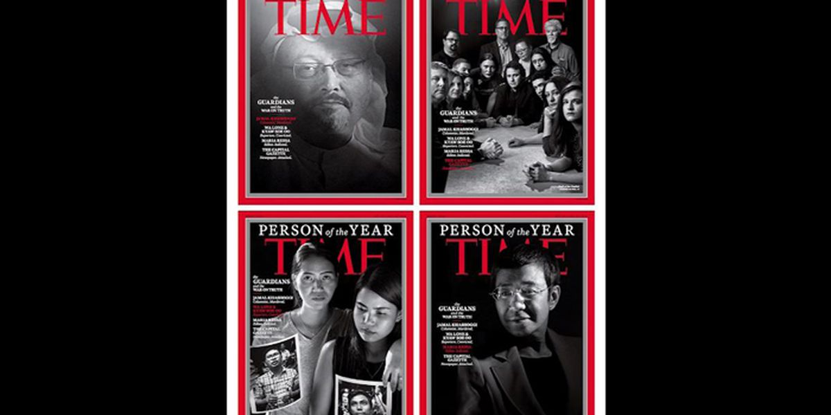 'Guardians and War on Truth' Time's 'Person of the Year'