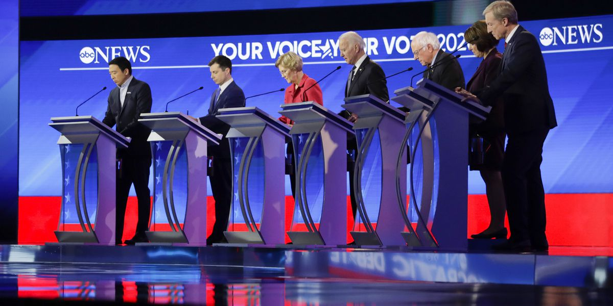 New Hampshire debate: Democrats clash over electability in struggle to oust Trump