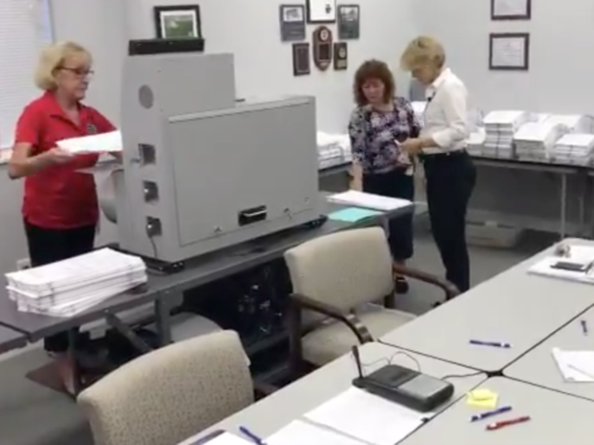 No issues so far in Martin County recount