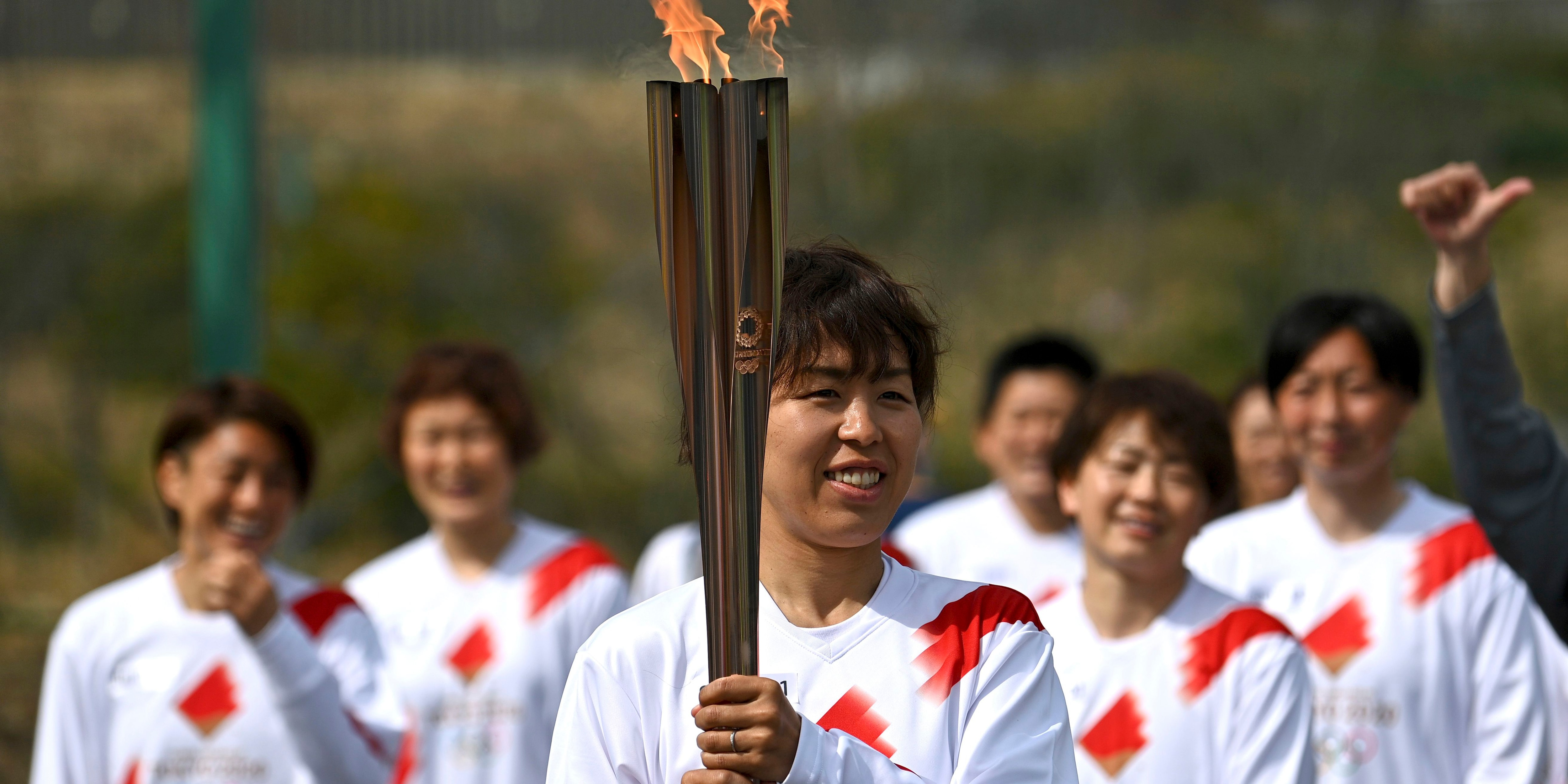Torch relay for Tokyo Olympics kicks off its 121-day journey