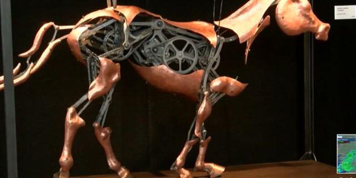 Kinetic art exhibit held this weekend in Boynton Beach