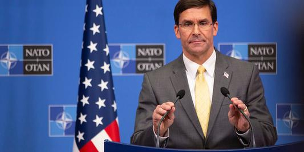 A reduced number of US troops will stay in Syria, Esper says