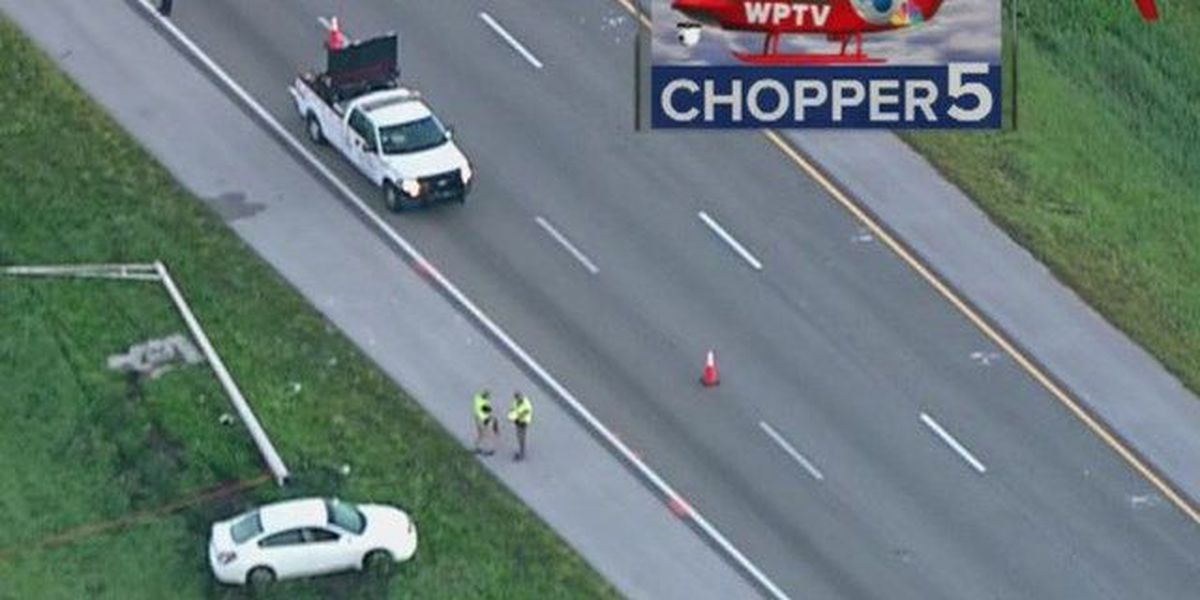 Fatal crash on I-95 SB in St  Lucie County