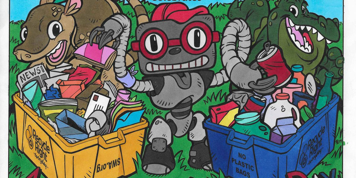 SWA's recycling coloring contest winners selected