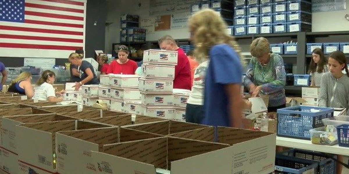 Forgotten Soldiers Outreach sends care packages