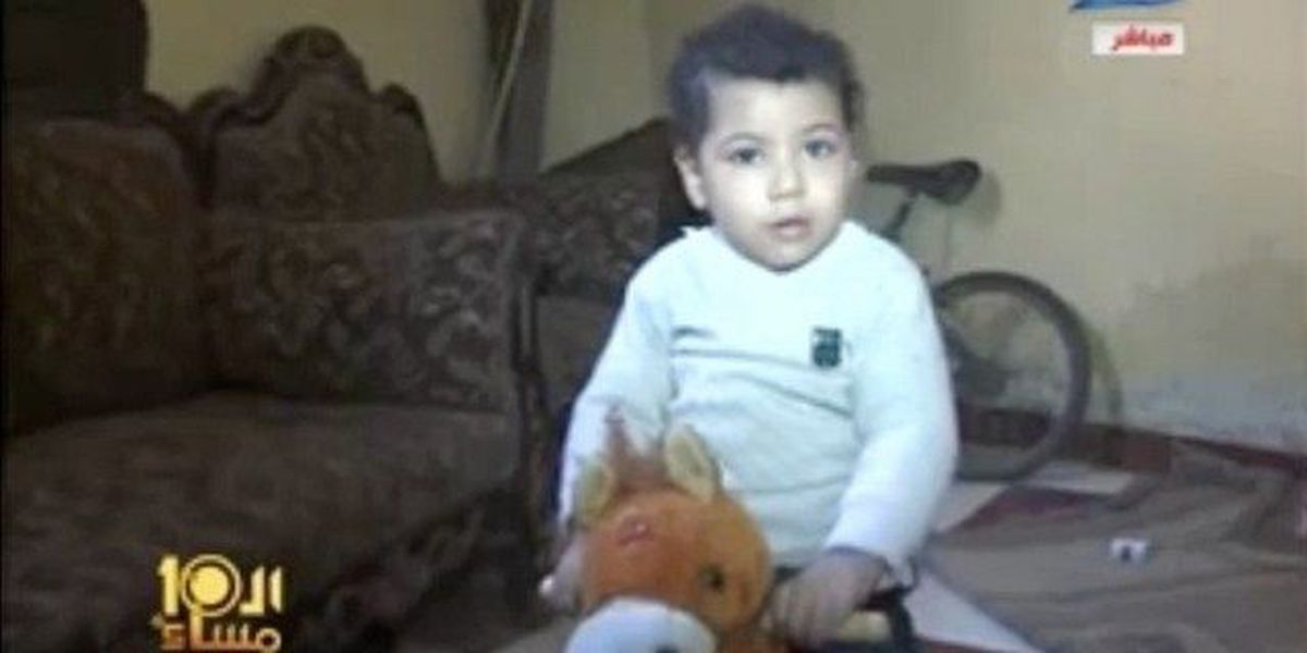 Egyptian toddler sentenced to life in prison
