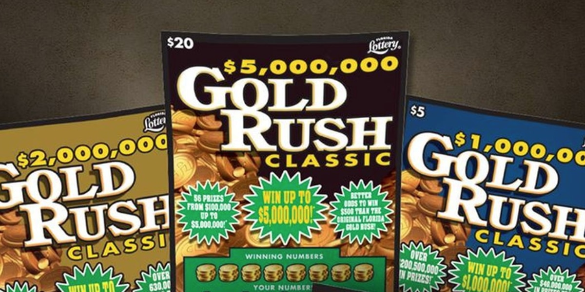 Florida Lottery introduces new $30 scratch-off ticket to join the Gold Rush Family