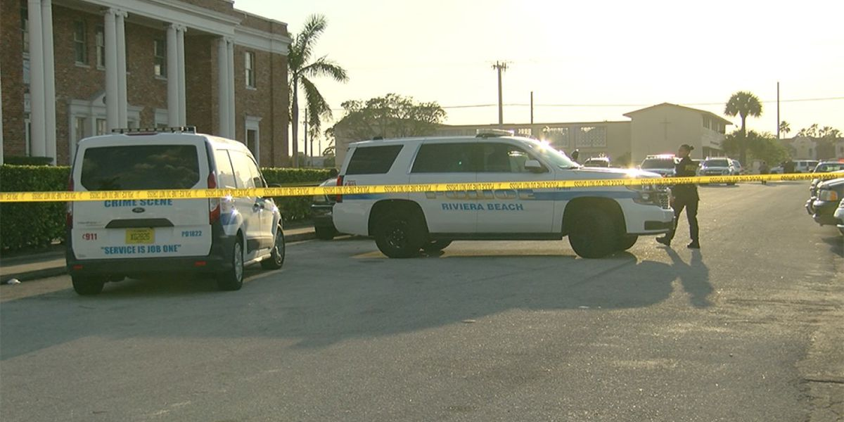 Deadly double shooting in Riviera Beach, one person detained