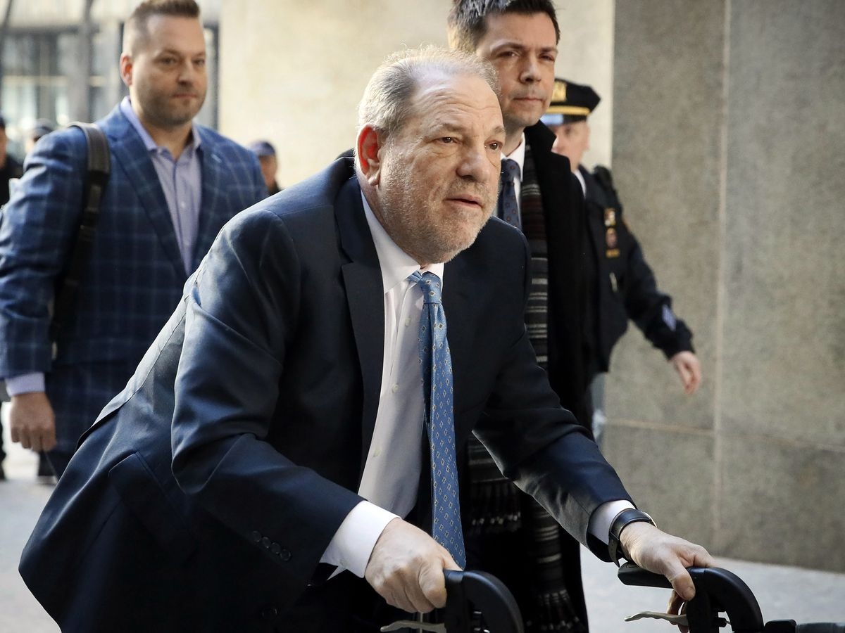 Judge OKs Weinstein bankruptcy plan with $17M for victims