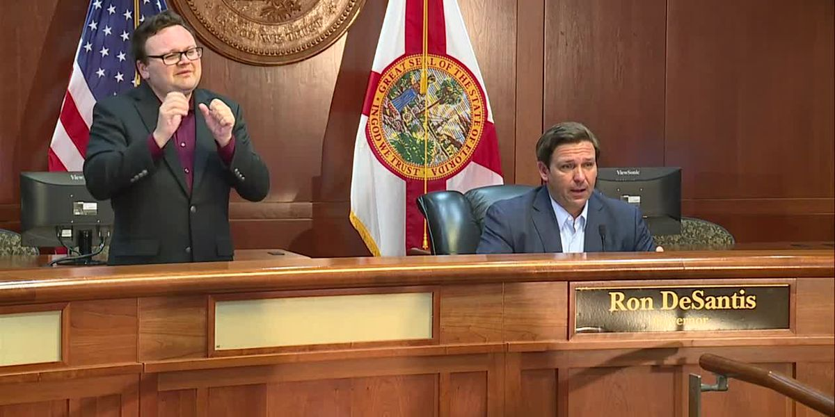 DeSantis says testing site coming to southern Palm Beach County