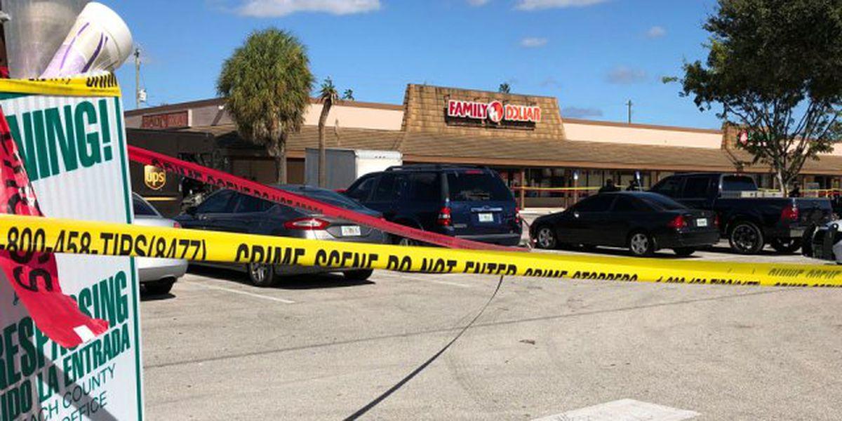 Man shot in leg near Family Dollar in Palm Beach County
