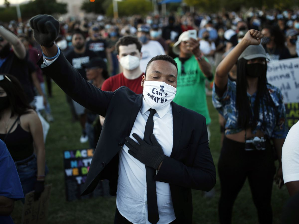 Massive, peaceful protests across US demand police reform