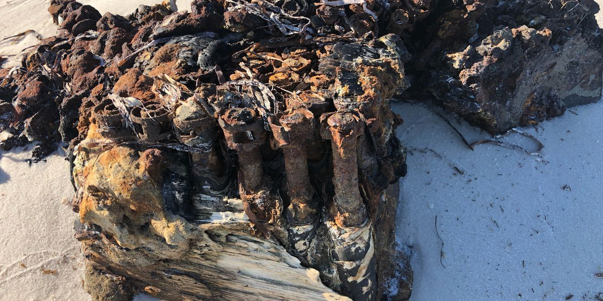 World War II explosives wash ashore in Florida