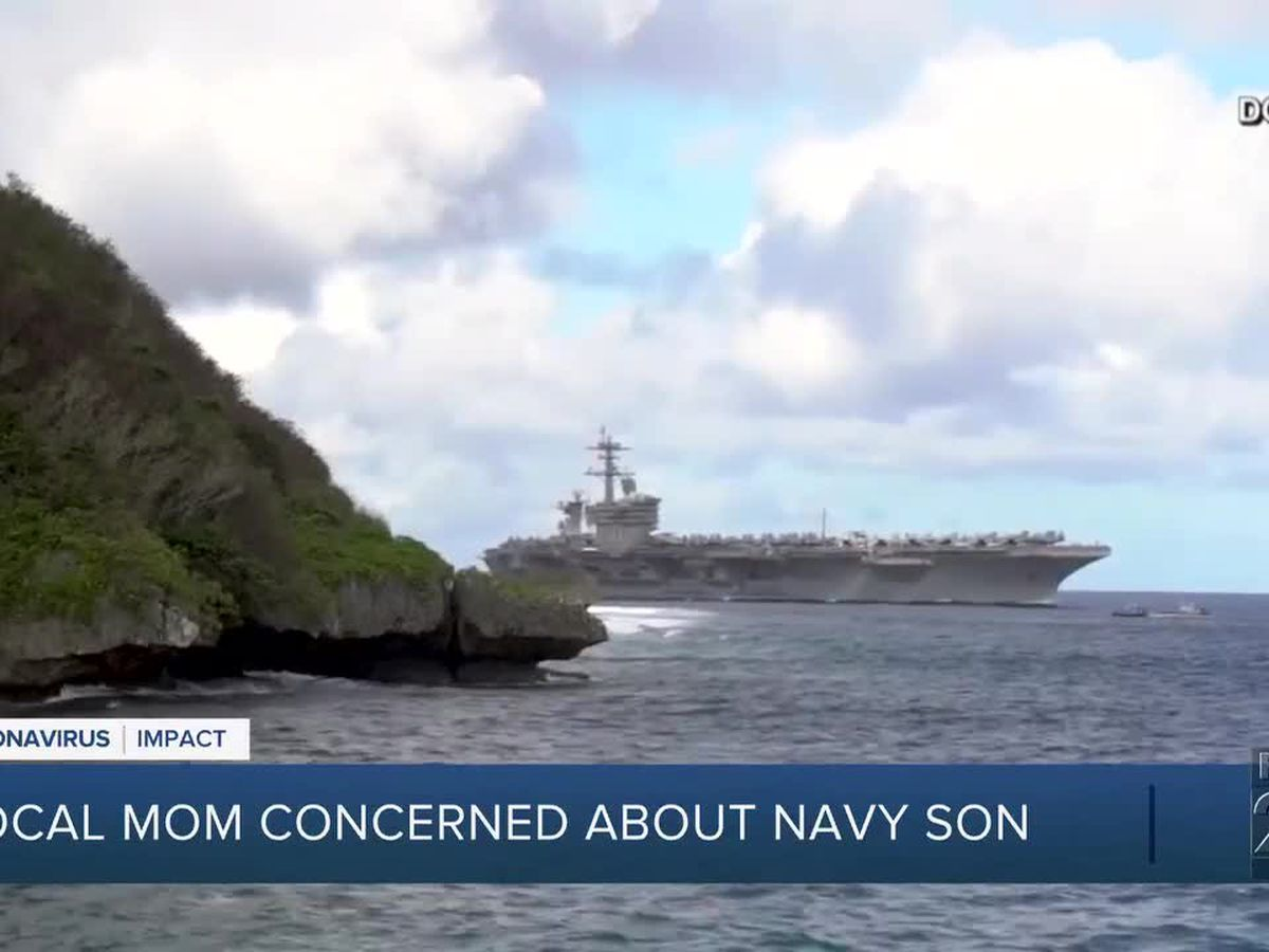 Local sailor aboard Navy ship with COVID-19 cases
