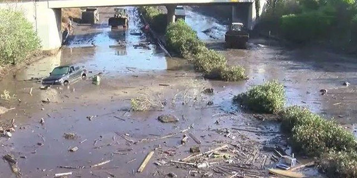 Difficult search goes on in California mudslides