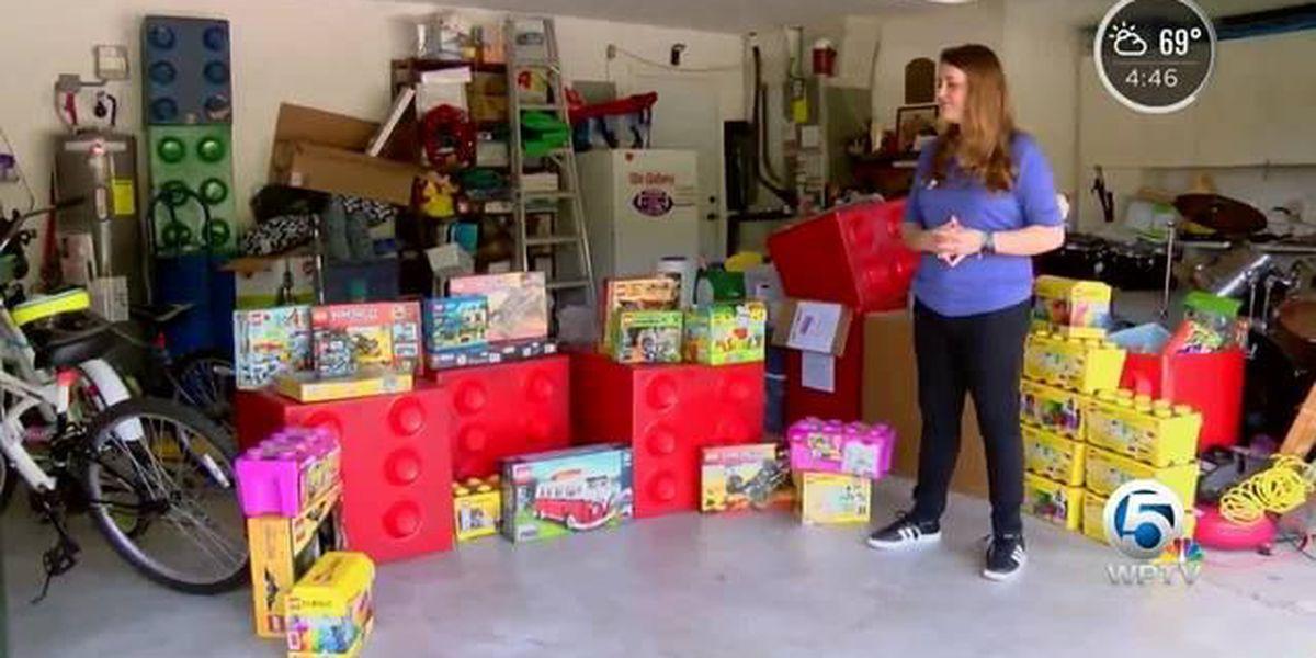 Wellington teen using Legos to help kids in need