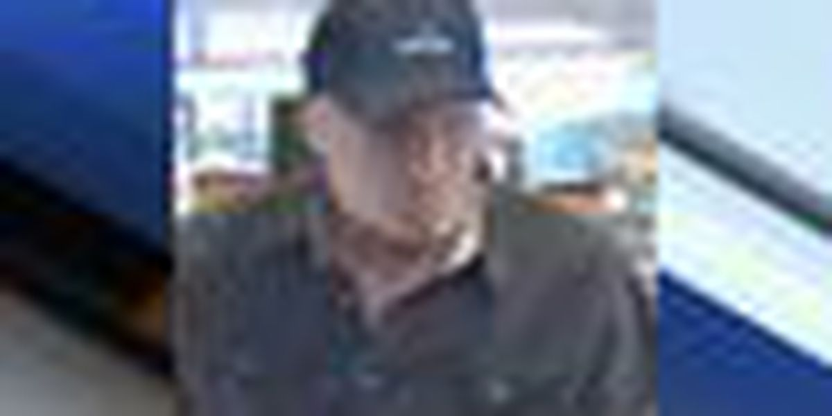 Police seeking to identify bank robbery suspect