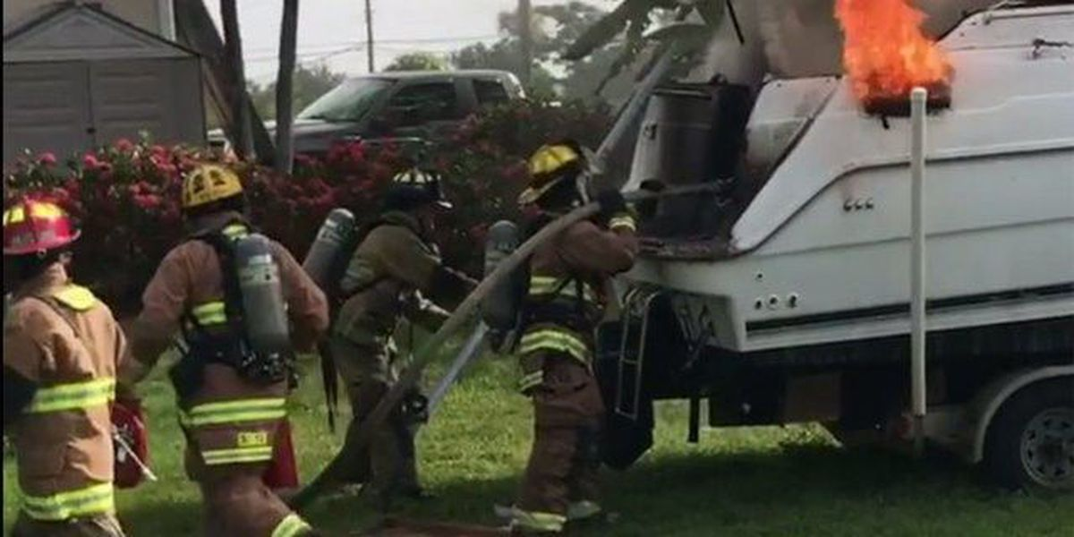 1 Injured in Port St. Lucie boat fire