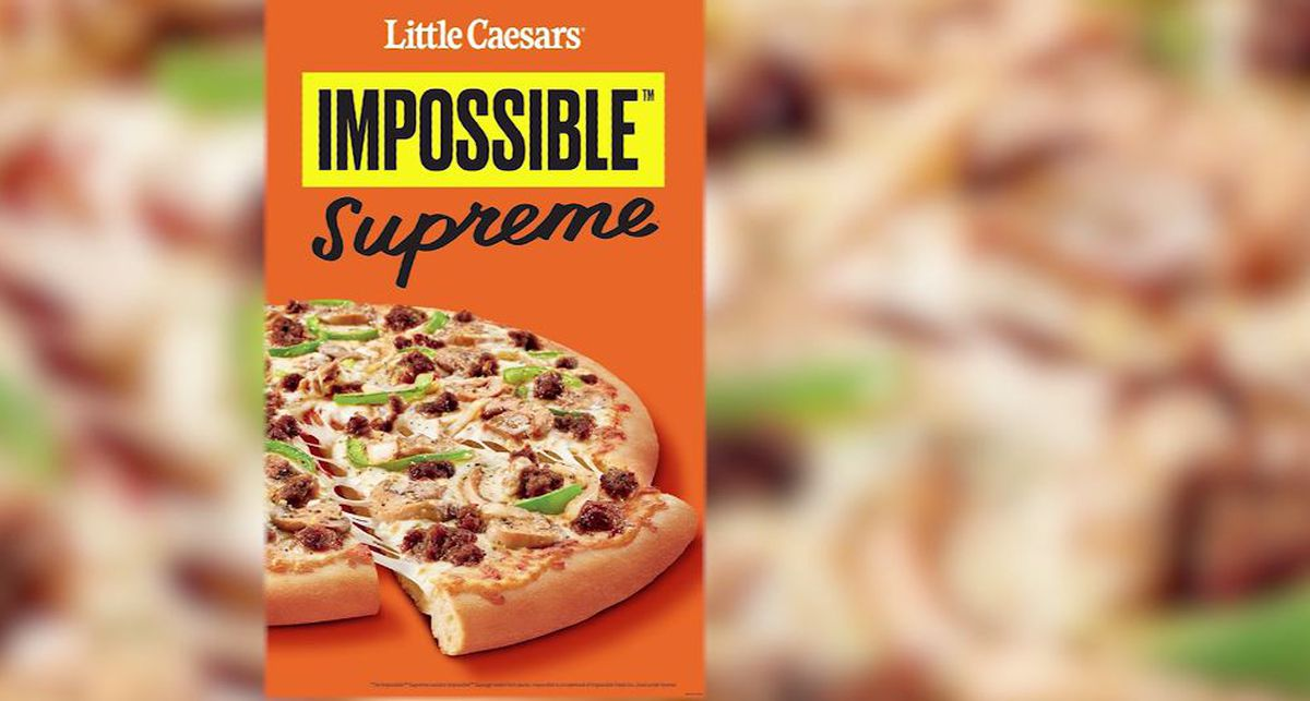 Little Caesars To Test Impossible Pizza